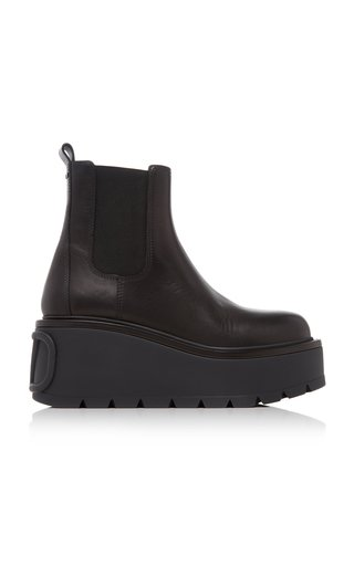 Valentino Garavani Uniqueform Leather Boots
