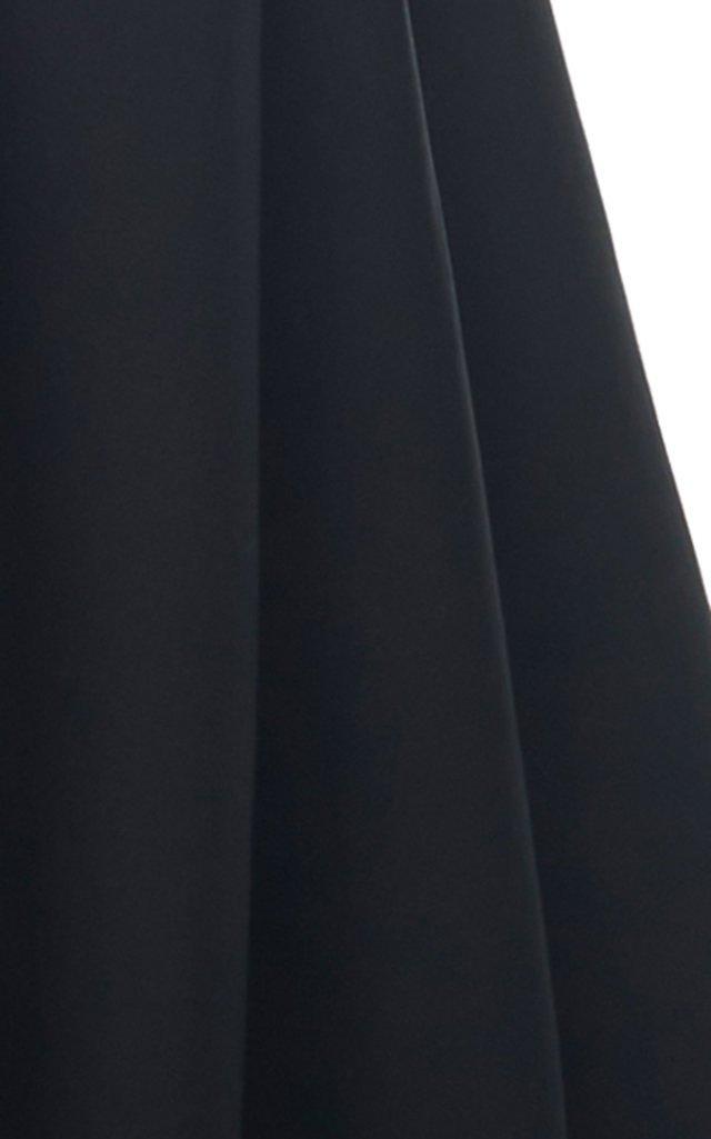 Structured Cotton-Silk Gown