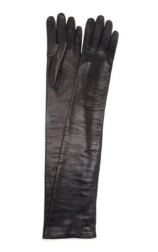 Valentino Garavani Long Leather Gloves