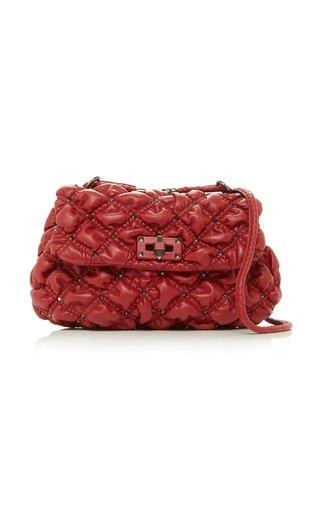 Valentino Garavani SpikeMe Medium Quilted Leather Shoulder Bag