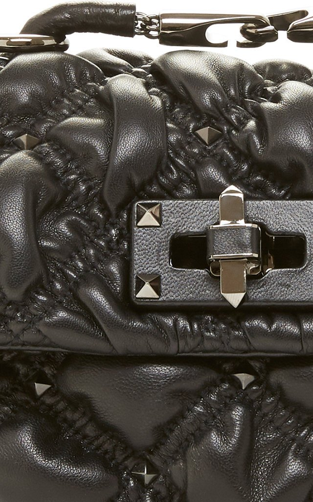 Small Quilted Leather Shoulder Bag