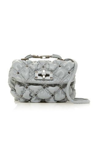 Valentino Garavani SpikeMe Small Quilted Leather Shoulder Bag