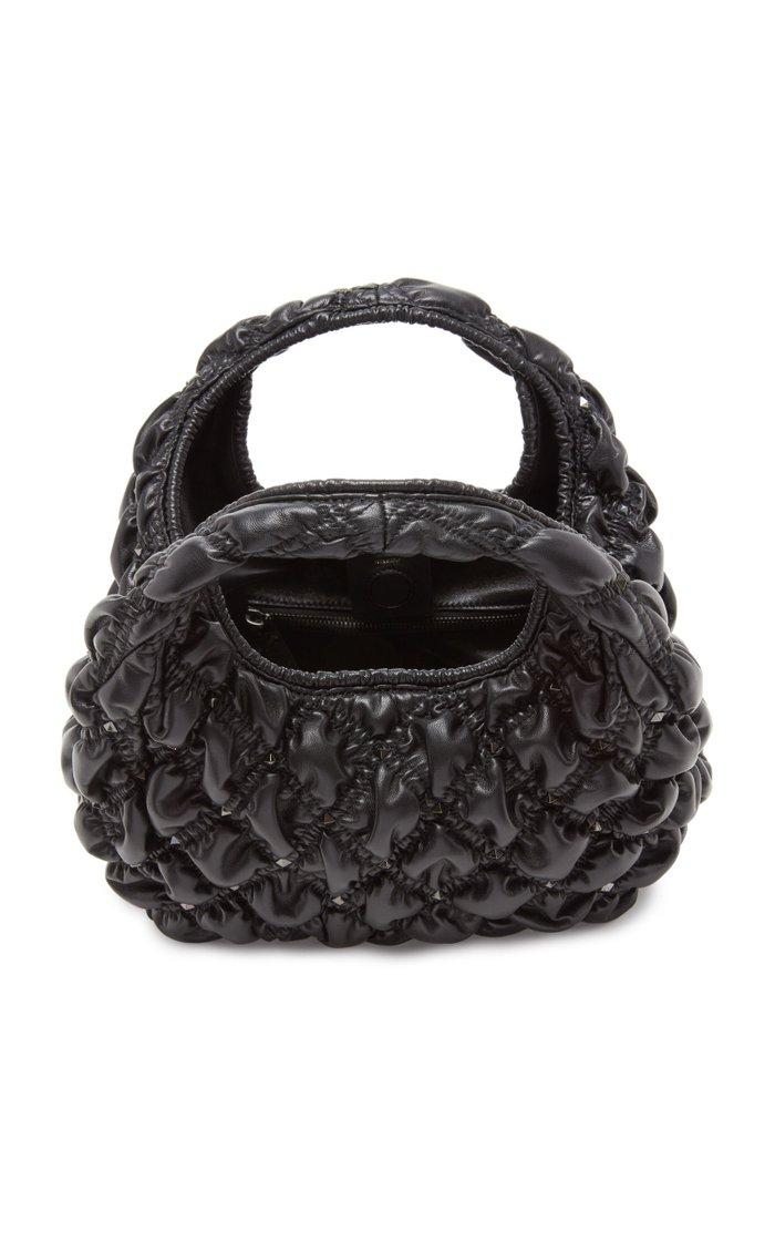 Valentino Garavani Medium Quilted Leather Hobo Bag