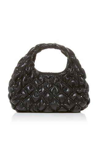Valentino Garavani SpikeMe Medium Quilted Leather Hobo Bag
