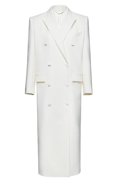 Double-Breasted Cady Coat