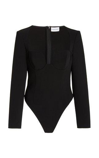 Wool-Blend Bodysuit