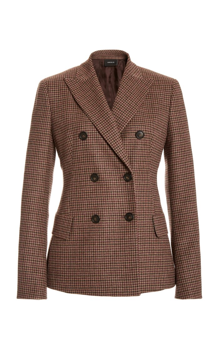 Gala Double-Breasted Cashmere Blazer