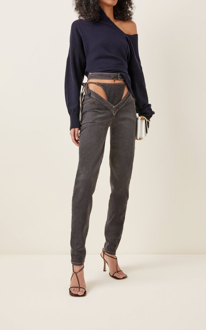 G-Party Rigid High-Rise Straight-Leg Jeans