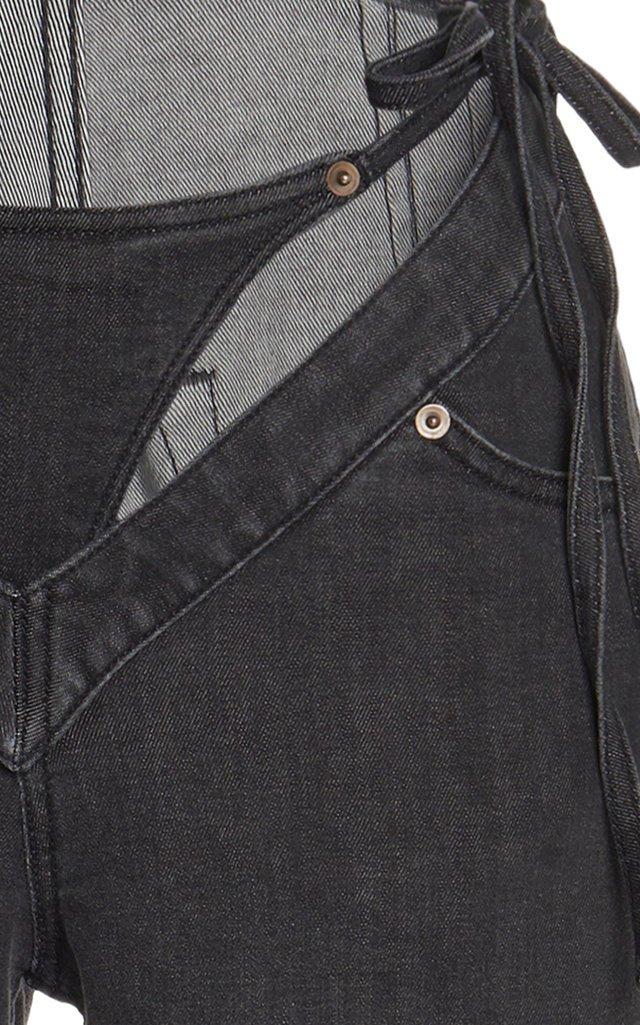 G-Party Rigid High-Rise Straight-Leg Jeans