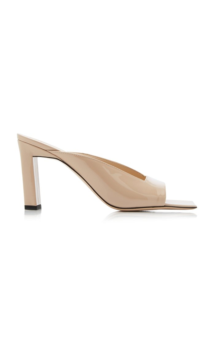 Isa Patent Leather Sandals