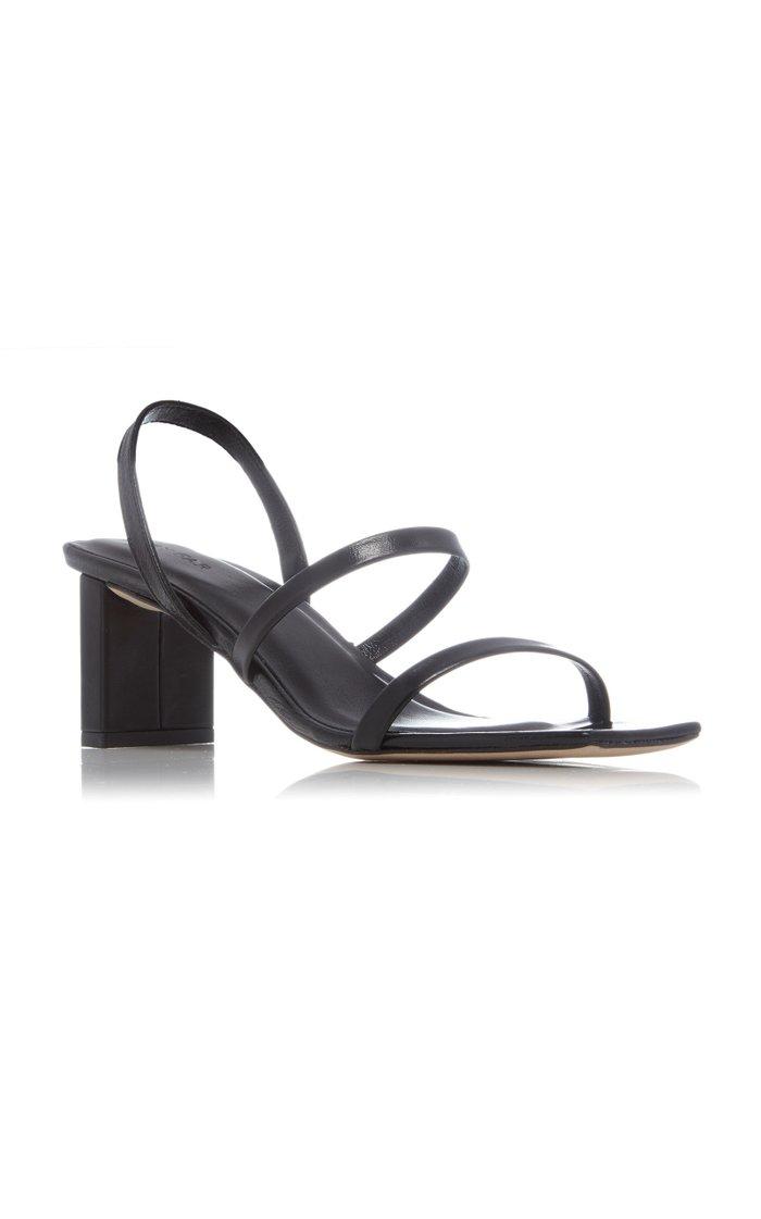 Liu Leather Sandals