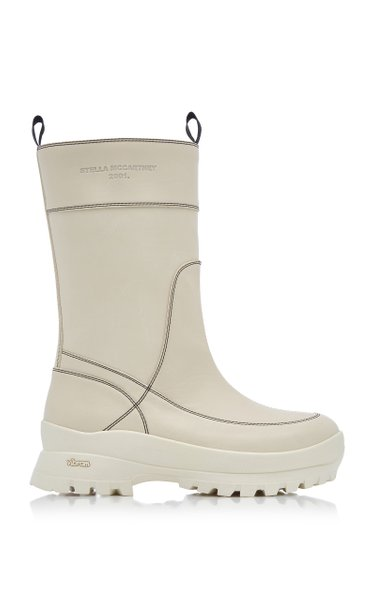 In The Rain Vegan Leather Boots