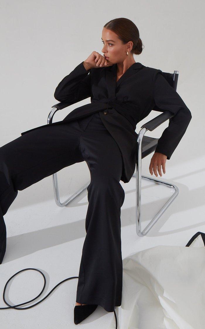 Slip Long Suiting Blazer