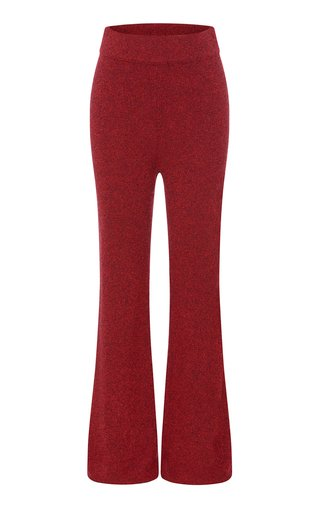 Selby Cashmere-Blend Boot-Cut Pants