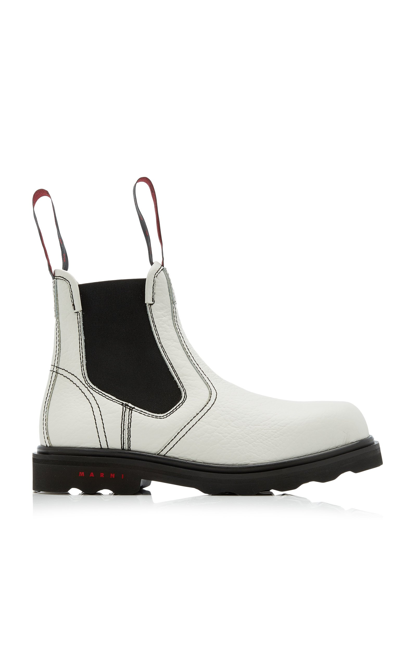 Leather Ankle Boots By Marni | Moda