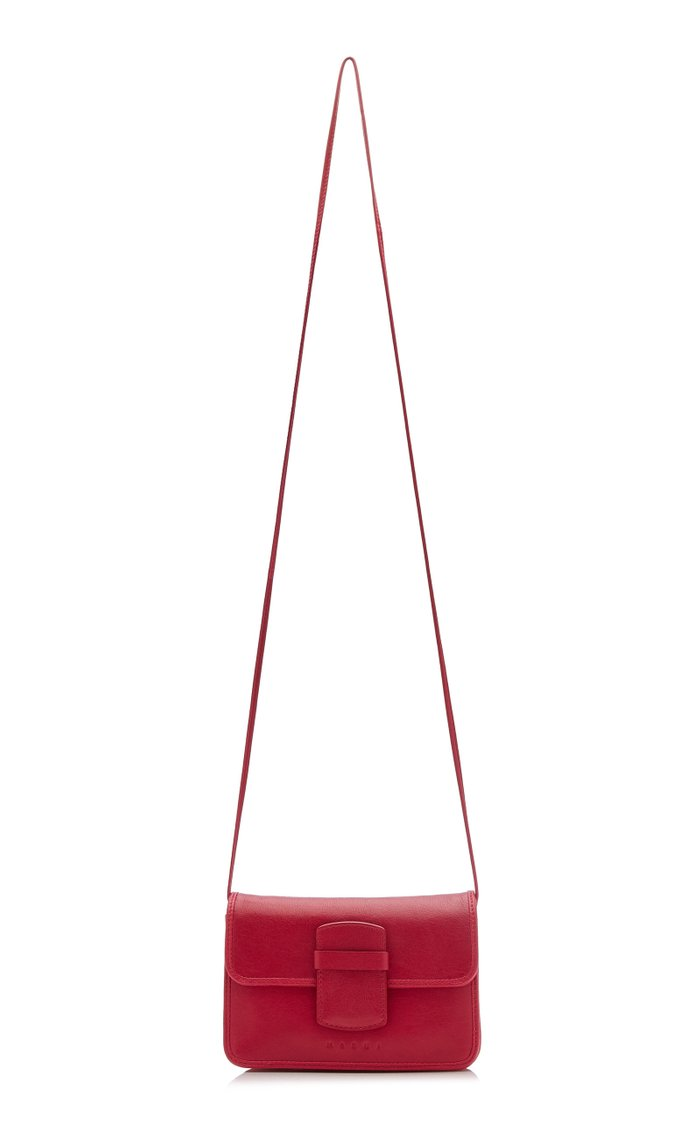 Severine Leather Crossbody Bag