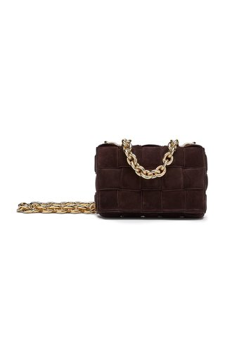 The Chain Cassette Suede Leather Bag