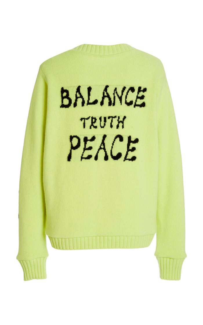 Love Balance Jacquard Sweater
