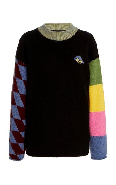 Eye Yin Yang Cashmere Sweater
