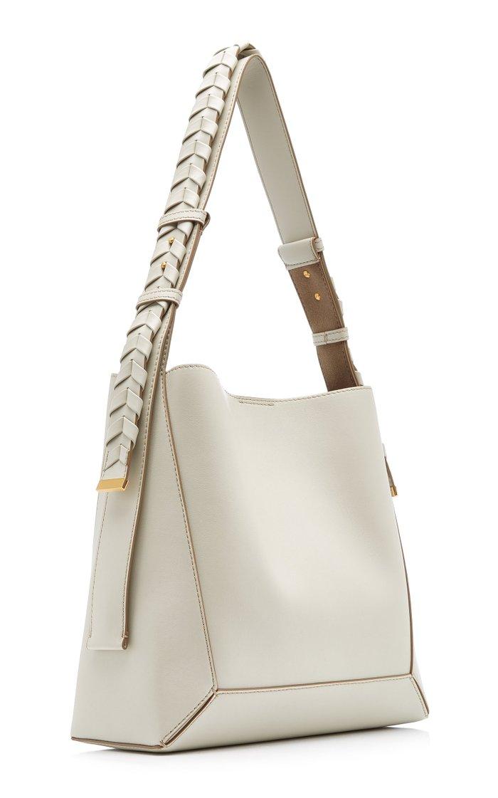 Medium Vegan Leather Hobo Bag