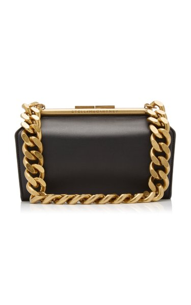 Medium Chunky Chain Vegan Leather Bag