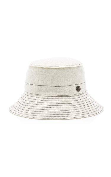 Angele Thick Wool Bucket Hat