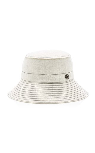Angele Thick Wool Bucket Hat