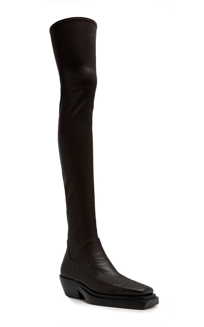 BV Lean Over-The-Knee Boots