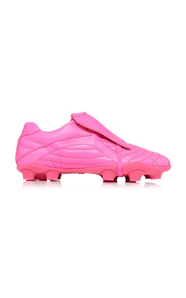 Soccer Leather Sneakers
