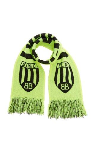 Soccer Wool-Blend Scarf
