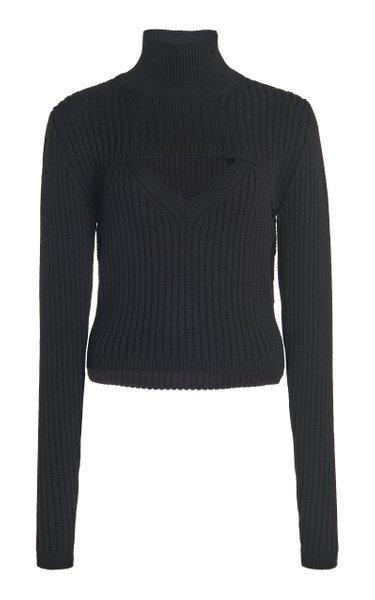 Thousand-In-One-Ways Wool-Blend Turtleneck