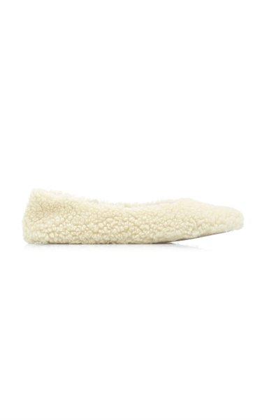 Nina Teddy Faux Fur Ballet Flats
