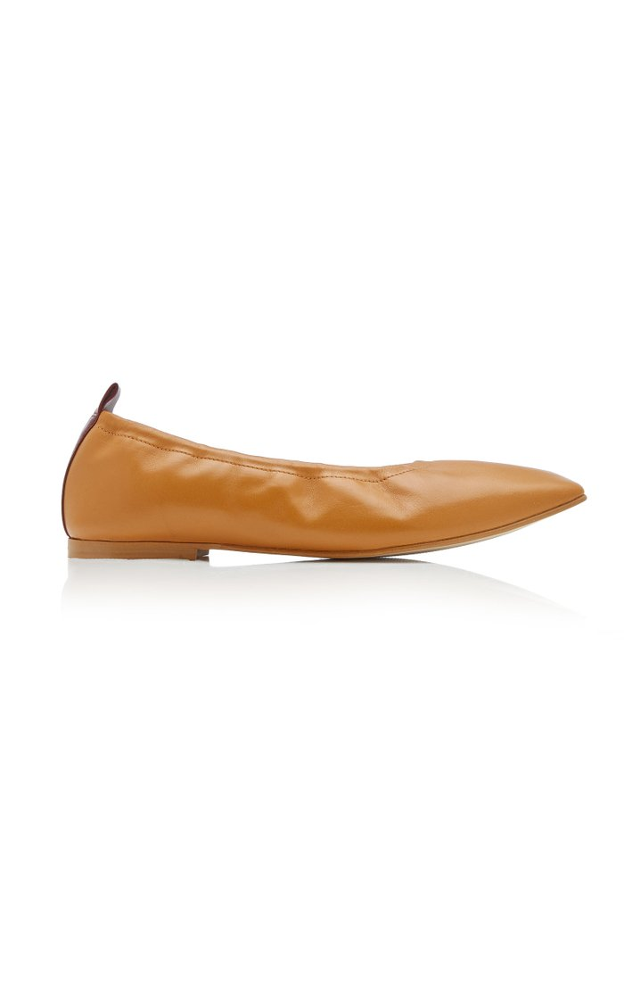 Nadine Leather Ballet Flats