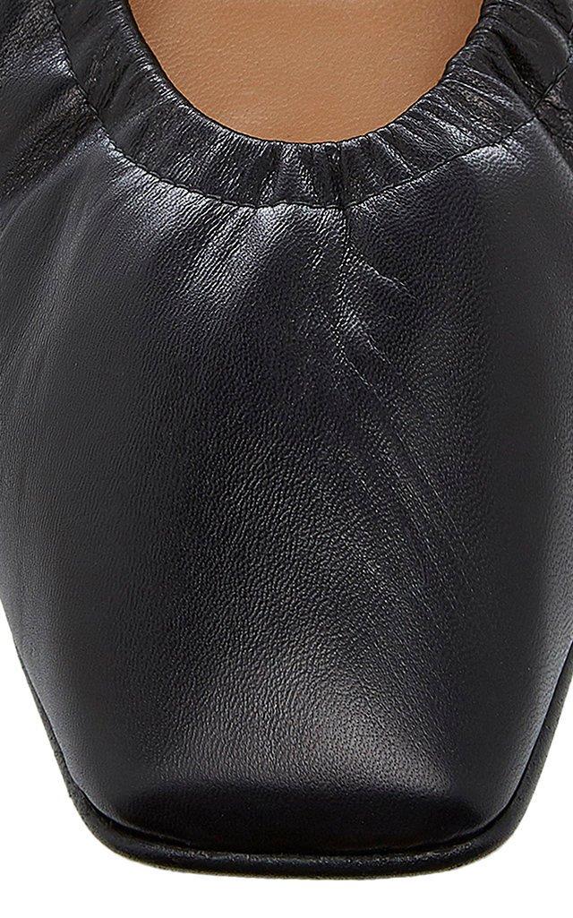 Nadine Leather Ballet Flats