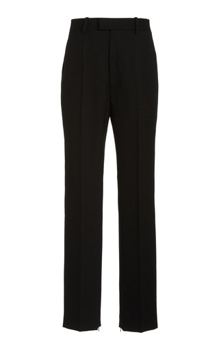 Straight-Leg Suiting Trousers