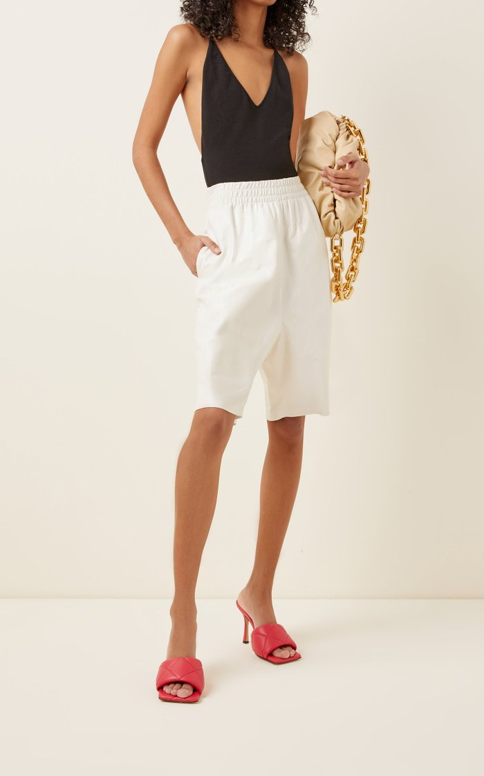 Sleeveless Cashmere-Blend Bodysuit