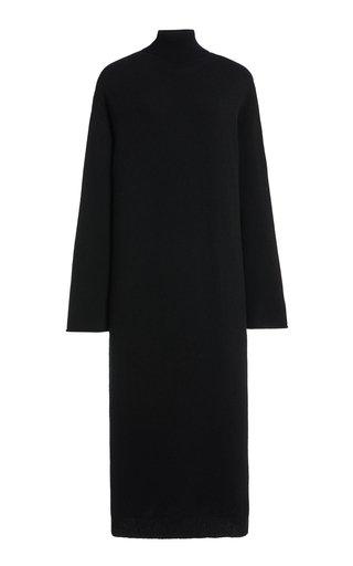 Angelica Cashmere Turtleneck Midi Dress