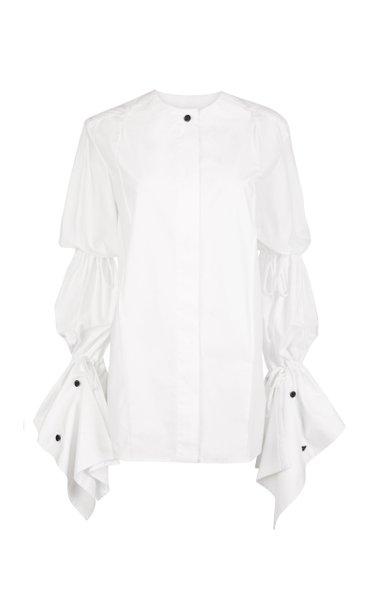 Charolais Ruched Organic Cotton Top