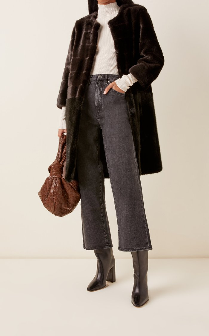 Omega Faux-Fur Coat
