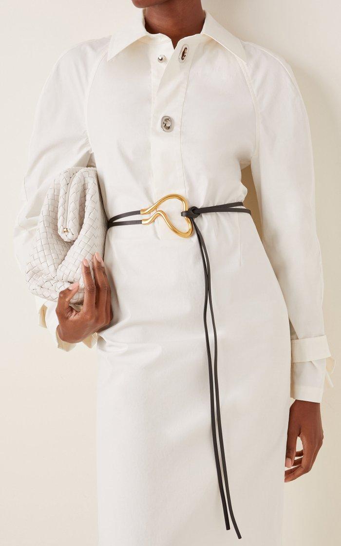 Wraparound Leather Belt