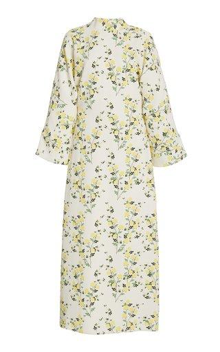 Miranda Floral Crepe Midi Dress