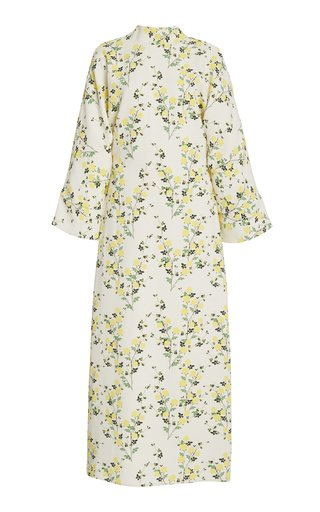 Miranda Floral Crepe Midi Dress