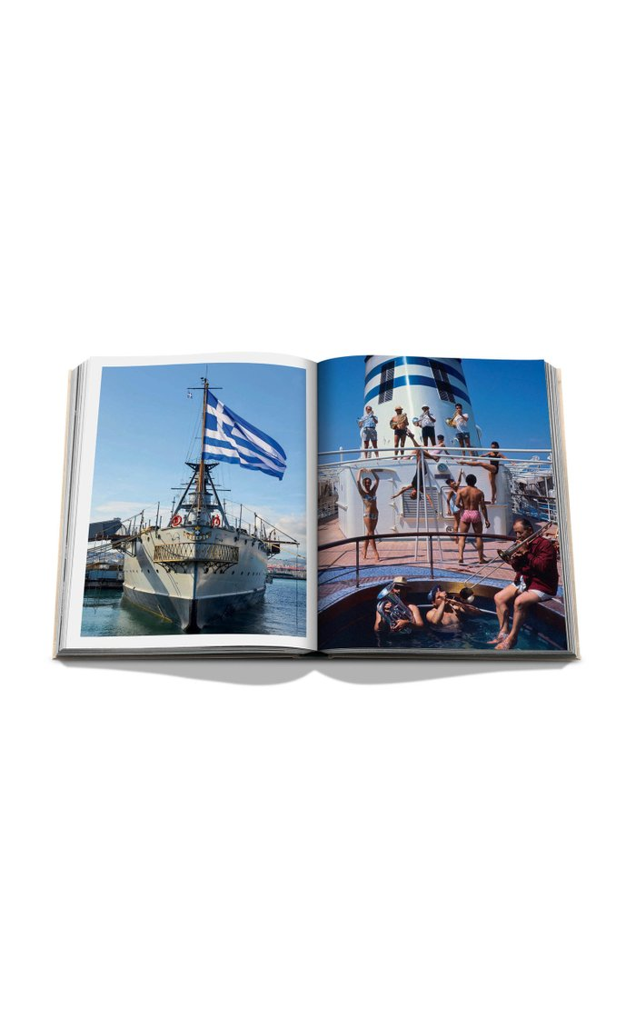 Athens Riviera Hardcover Book