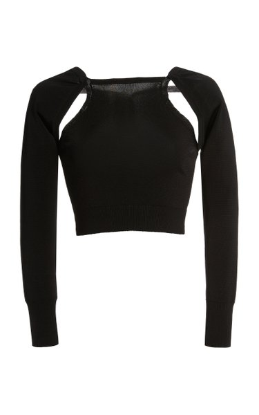 Aurora Cutout Knit Top