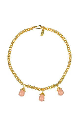 Coral Jewel Necklace