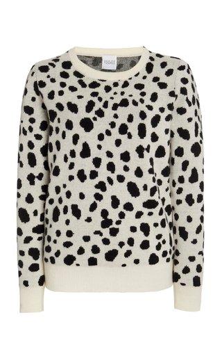 Jacquard Wool-Cashmere Sweater