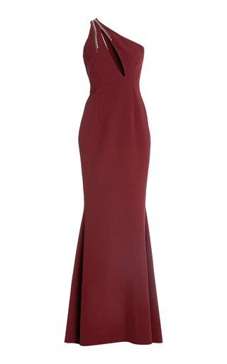 Penelope Crystal Stud Embroidered Dress