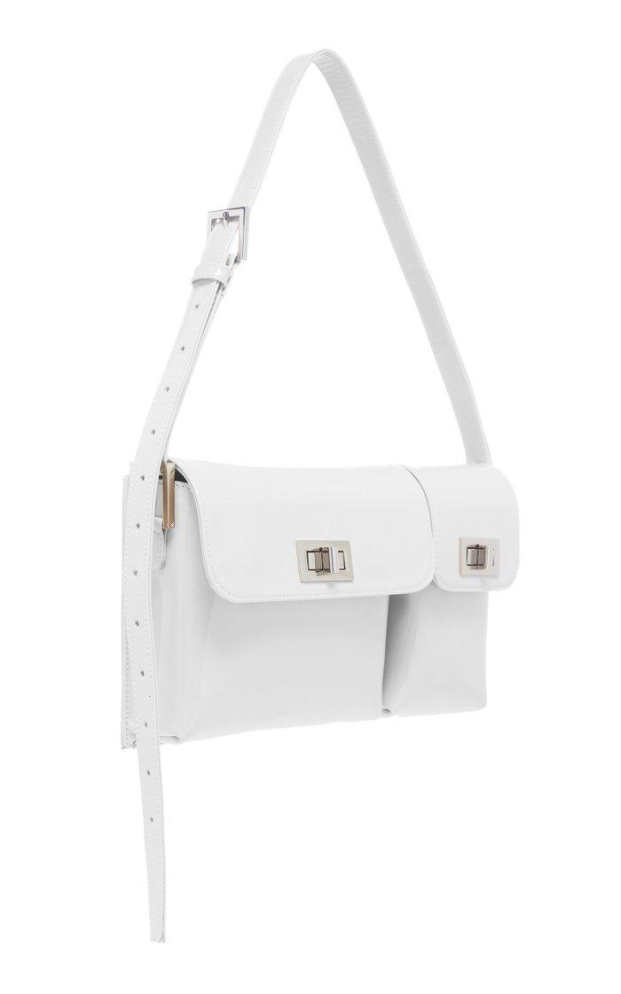 Billy Patent Leather Shoulder Bag
