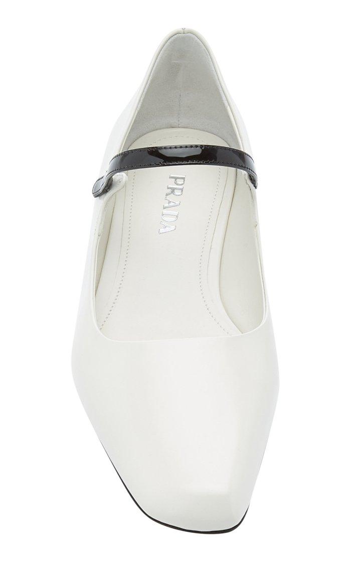 Patent Leather Ballerina Flats