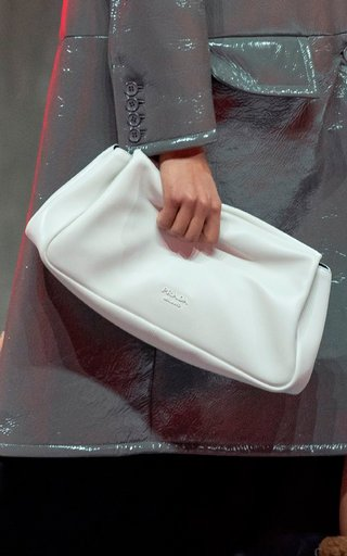 Relaxed Leather Clutch